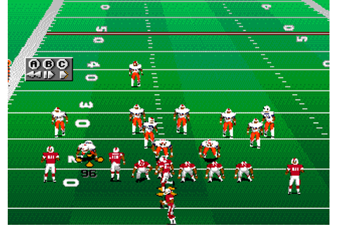 Download College Football USA 96 (Genesis) - My Abandonware