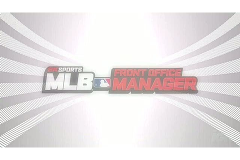 MLB Front Office Manager Videos, Movies & Trailers ...