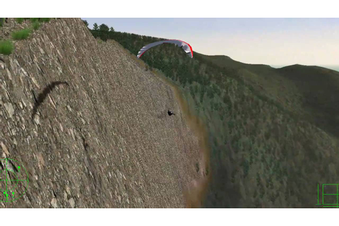 Paraglider Simulation using Vehicle Simulator (VSF) - YouTube