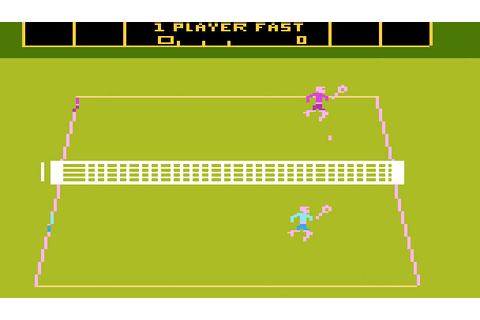 #Tennis has a long history in #videoGames, but game play ...