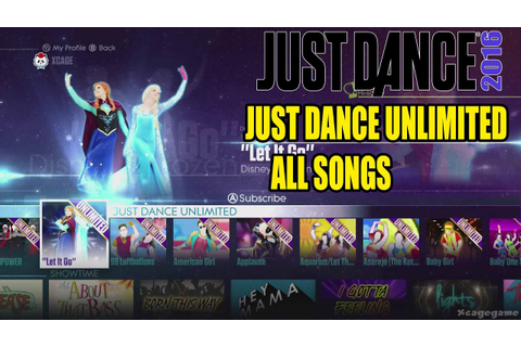 Just Dance 2016 - All Songs Just Dance Unlimited Full ...