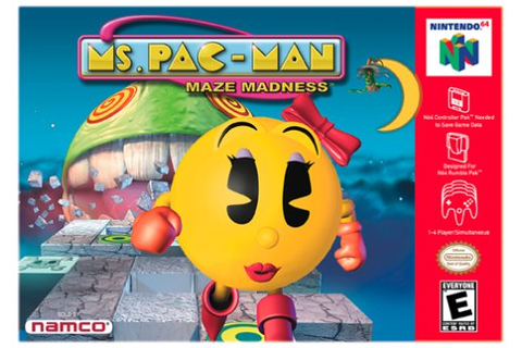 Ms. Pac-Man - Maze Madness (USA) ROM