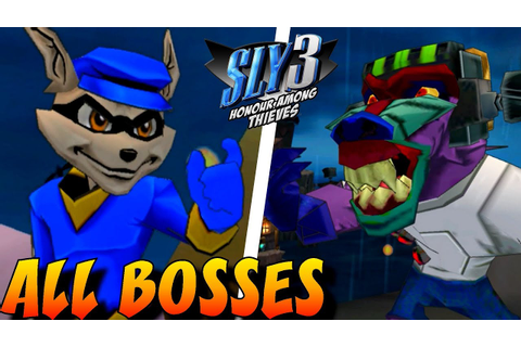 Sly 3: Honor Among Thieves - All Bosses (No Damage) - YouTube