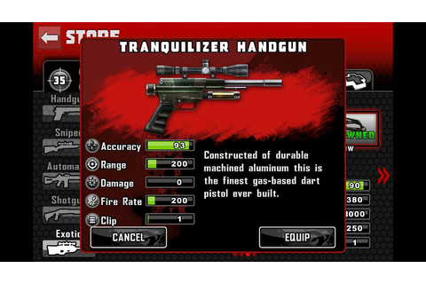 Tranquilizer Handgun | Contract Killer Wiki | FANDOM ...