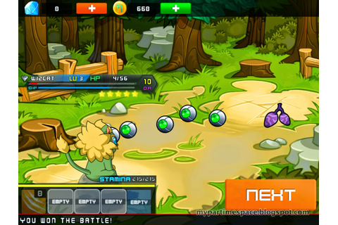 Micromon iPhone iPad Game Review - My Part Time Space