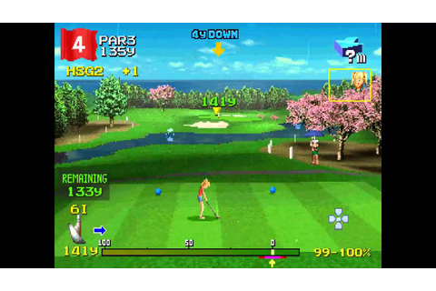 Hot Shots Golf 2 ... (PS1) 60fps - YouTube