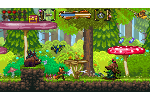 Fox n Forests Indie Game Review | Geeky Hobbies