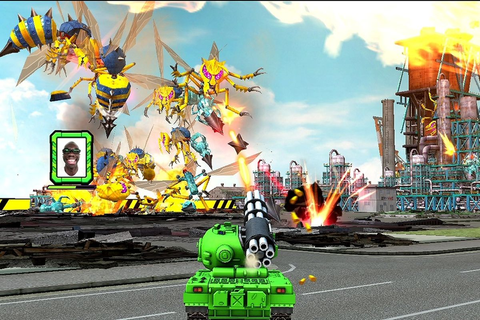 'TANK! TANK! TANK!' is a solid party game for the Wii U ...