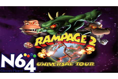 Rampage 2 Universal Tour - Nintendo 64 Review - HD - YouTube