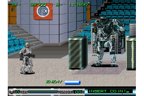 RoboCop 2 (1991) Arcade game