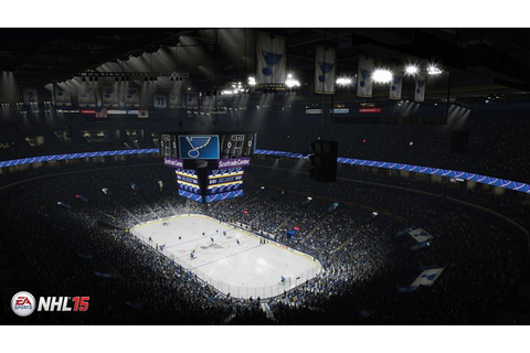 NHL 15: Scottrade Center Looks Pretty Good - St. Louis ...