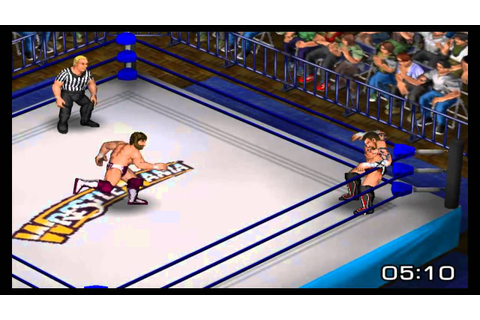 Fire Pro Wrestling Returns - CM Punk vs Daniel Bryan - YouTube