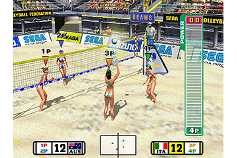 Beach Spikers - Videogame by Sega