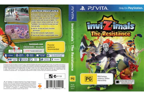 Invizimals: The Resistance (PlayStation Vita) | The Gamesmen