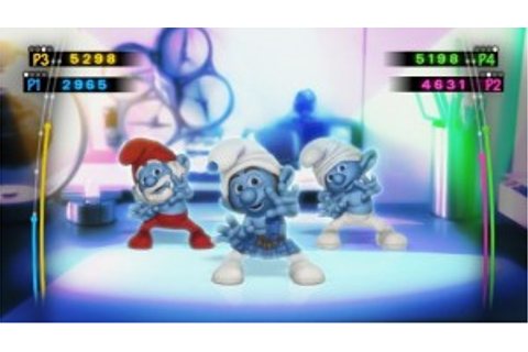 The Smurfs Dance Party Wii Game : ThePartyAnimal Blog