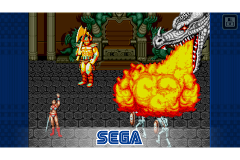 Golden Axe is the latest game joining SEGA Forever collection