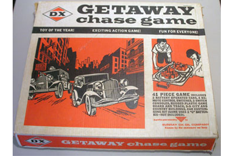 DX Getaway Chase Game | Collectors Weekly