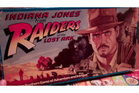 Indiana Jones from Raiders of the Lost Ark / Board Game ...
