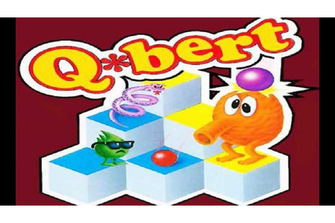 Q Bert arcade video game high score Game Play 87435 - YouTube