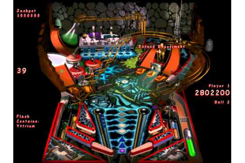 Full Tilt! 2 Pinball - Mad Scientist (Gameplay) - YouTube