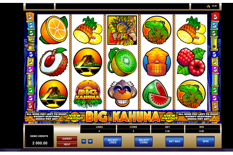 Big Kahuna slot: Play with $210 Free Bonus! | YummySpins