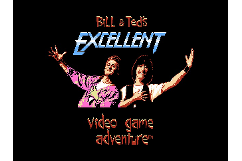 Bill & Ted's Excellent Video Game Adventure (USA) ROM