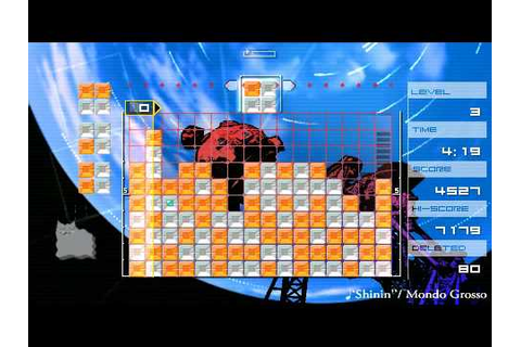PSP | Lumines - Gameplay - YouTube
