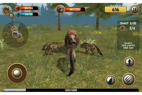 Wild Wolf Simulator 3D APK Download - Free Simulation GAME ...