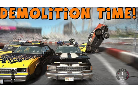 Tomcat Plays | Next Car Game | V8 Turbo Turd Demolition Derby and ...