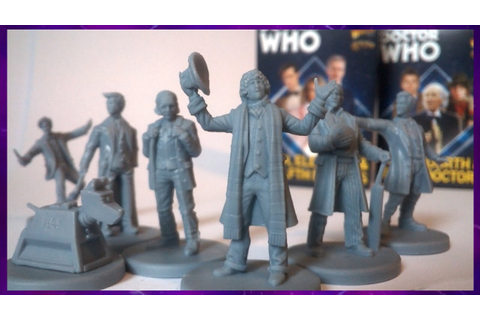 Doctor Who Warlord Games: Doctors Sets - YouTube