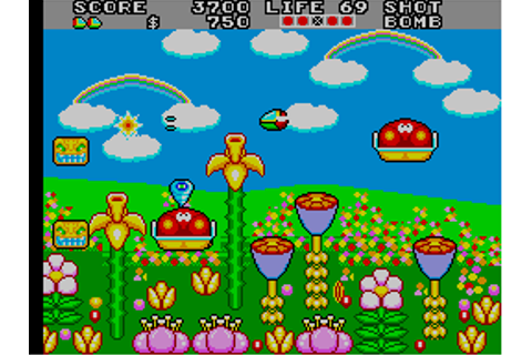 Fantasy Zone II: The Tears of Opa-Opa, Arcade Video game ...