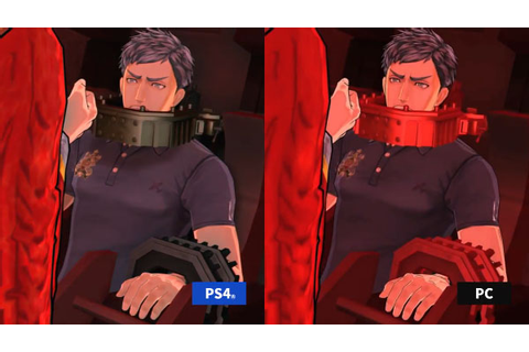 Zero Time Dilemma PS4 vs. PC comparison trailer - Gematsu