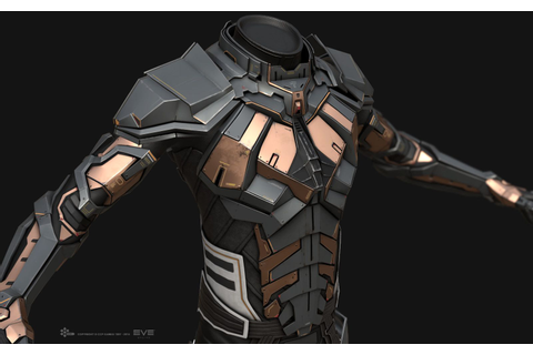 ArtStation - EVE Online - Combat Suit - In-Game, Jakob ...