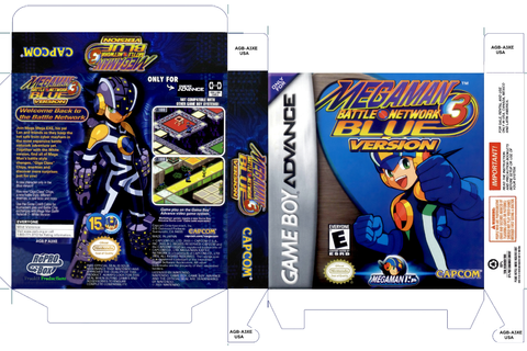 Megaman Battle Network 3 BlueBox My Games! Reproduction ...