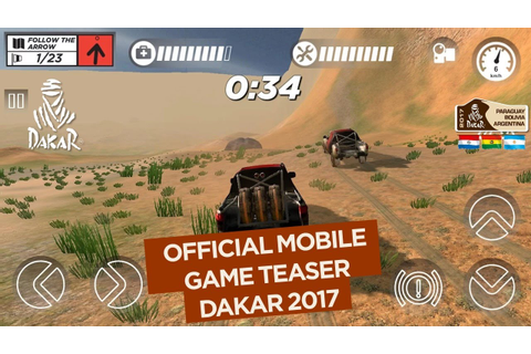 2017 Dakar Mobile Game - Official Teaser - YouTube