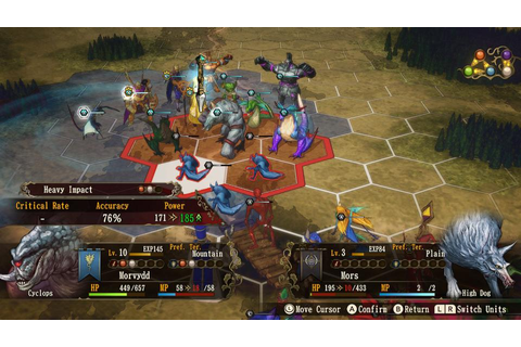 Switch Demo For 'Brigandine: The Legend Of Runersia ...