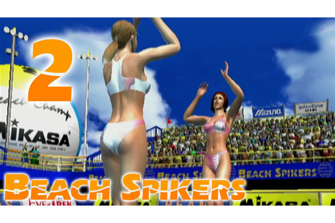 Beach Spikers - MORE VOLLEYBALL (Part 2) - Sage Gameplay ...