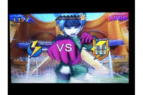 Inazuma Eleven GO 3 Galaxy : VS Raimon (GO) (Level 99 ...
