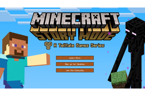 NEW Minecraft Story Mode 2015 - VIDEO GAME DETAILS ...
