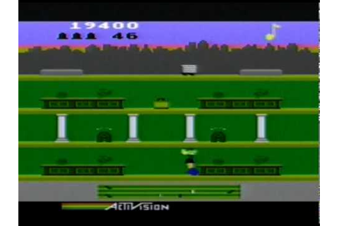 Nice and Games -- Keystone Kapers [Atari 5200] - YouTube