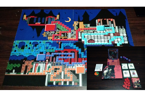 The Best 3D Castlevania Is This Custom-Made Board Game ...