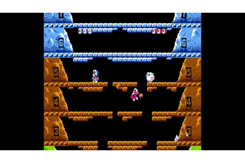 Ice Climber NES 2 player Netplay game - YouTube