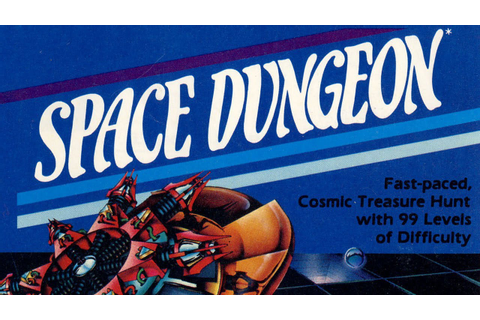 Classic Game Room - SPACE DUNGEON for Atari 5200 review ...