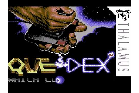 Quedex (C64): Loading Sequence, Title, Demo and Gameplay ...