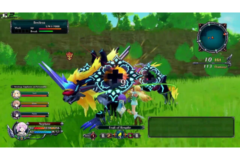 Cyberdimension Neptunia 4 Goddesses Online PC Game Free ...
