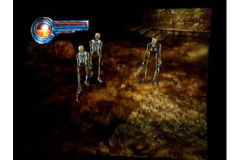 Kings Field 4 the ancient city gameplay PS2 - YouTube