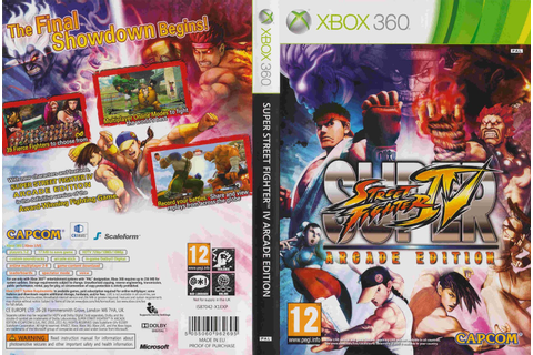 Ruy Games: Super Street Fighter IV Arcade Edition