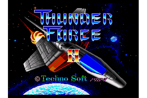 Thunder Force 2 MD Download Game | GameFabrique