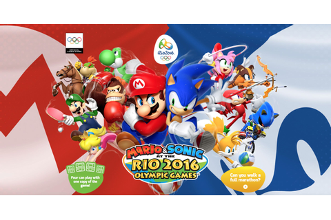 Mario & Sonic At The Rio 2016 Olympic Games - The official ...