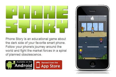 Apple Censor: The Anti-iPhone Game